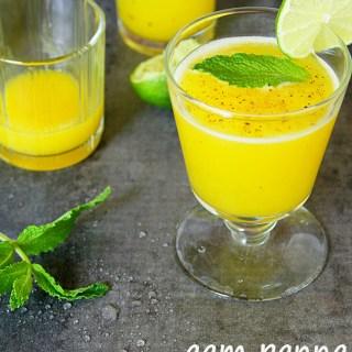 Aam Panna {Indian Green Mango Summer Cooler}