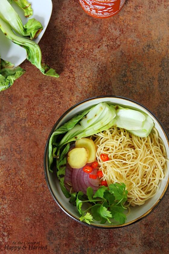 Asian Noodle Soup Bowl