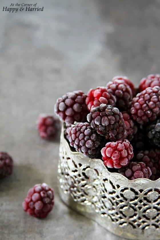 Juicy Ripe Blackberries