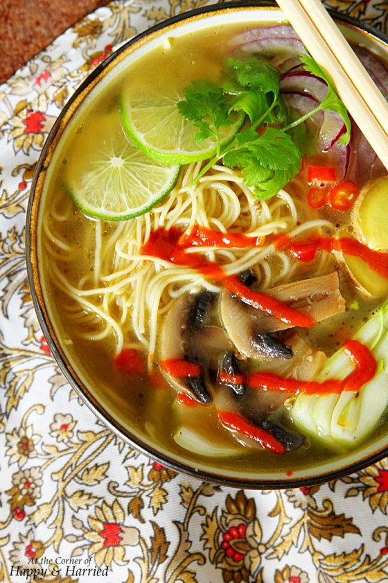 Pho-Inspired Asian Noodle Soup Bowl