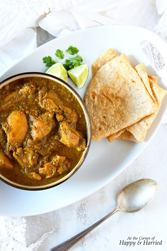 South Indian Chicken Korma With Coconut Milk And Herb Masala Paste