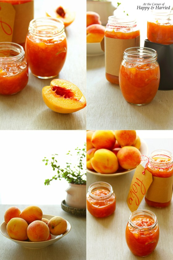 Homemade Peach Vanilla Jam