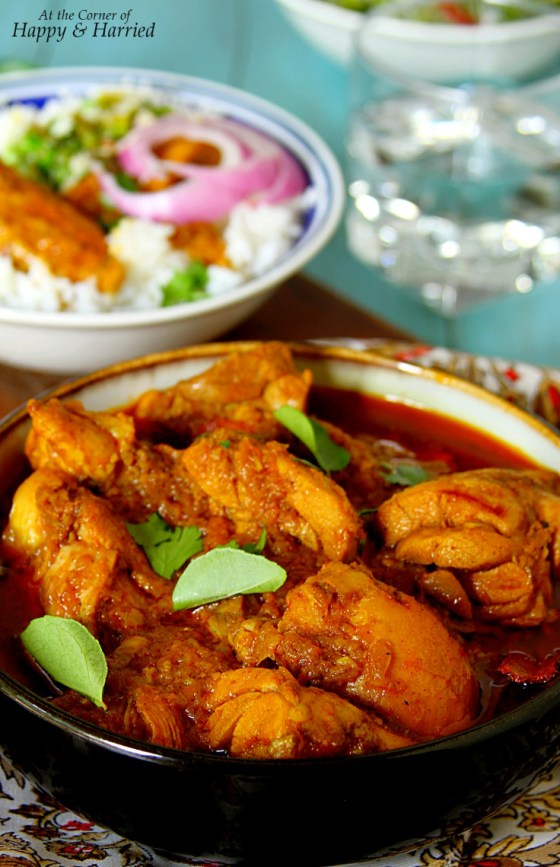 Sri Lankan Chicken Curry - Spicy & Delicious