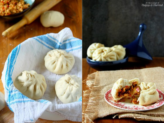 Baozi - Chinese Steamed Meat Buns