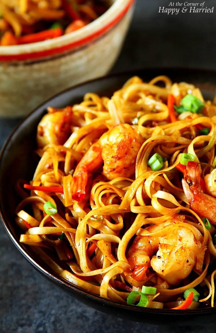 Chinese Shrimp Hakka Noodles
