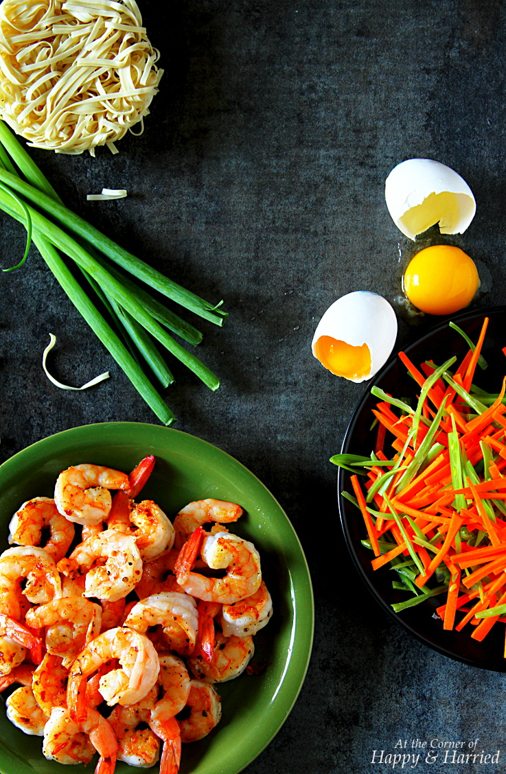 Shrimp Stir Fry Noodles