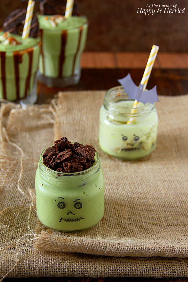 Halloween Frankenstein Shake for Kids