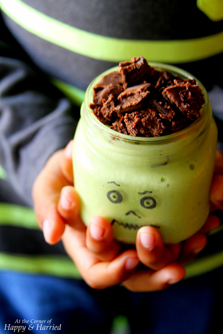 Halloween Green Monster Shake
