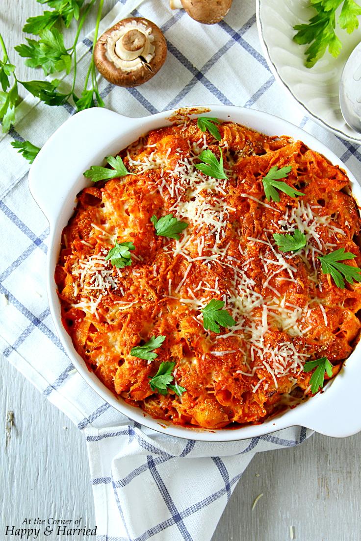 Baked Chicken & Pasta Casserole