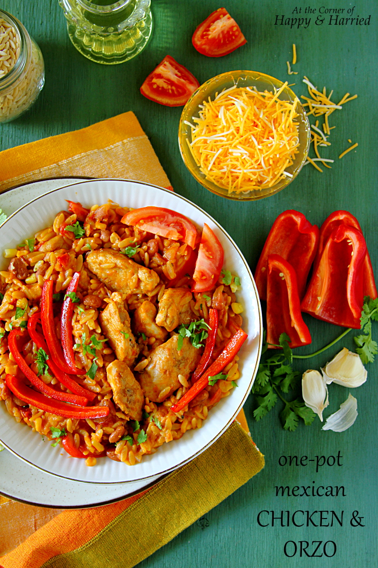 One-Pot Mexican Chicken & Orzo