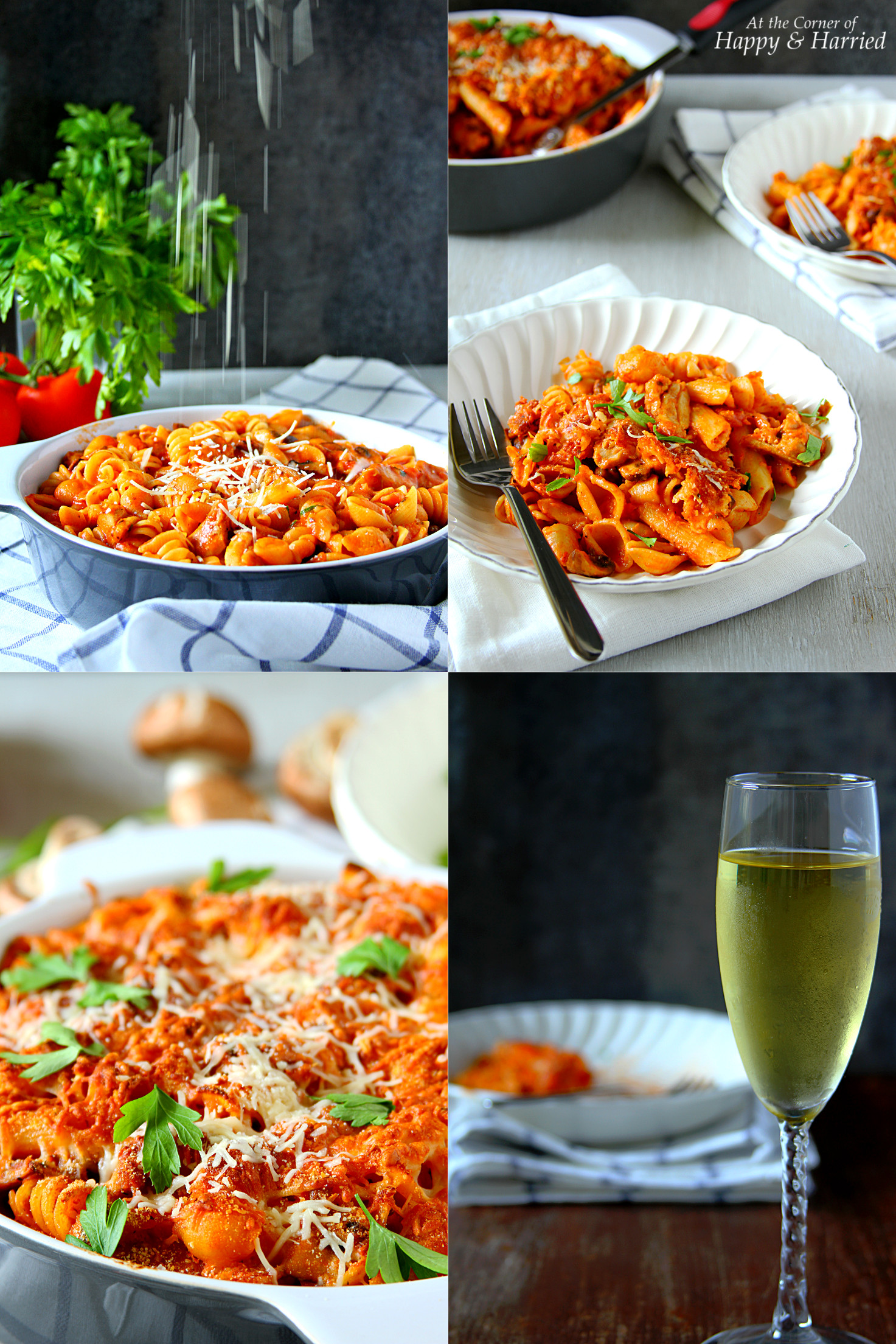 QUICK ITALIAN CHICKEN PASTA BAKE