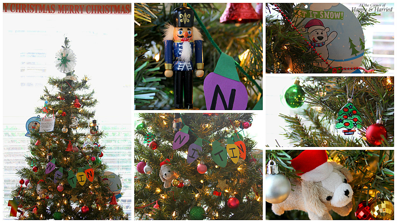 HappyandHarried Christmas 2015-Adorable Kids Crafts Christmas Tree