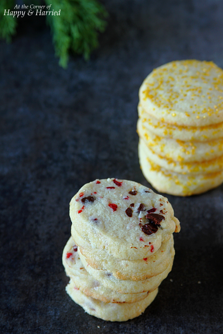 SOFT & CHEWY CRANBERRY-CHOCOLATE VANILLA SUGAR COOKIES