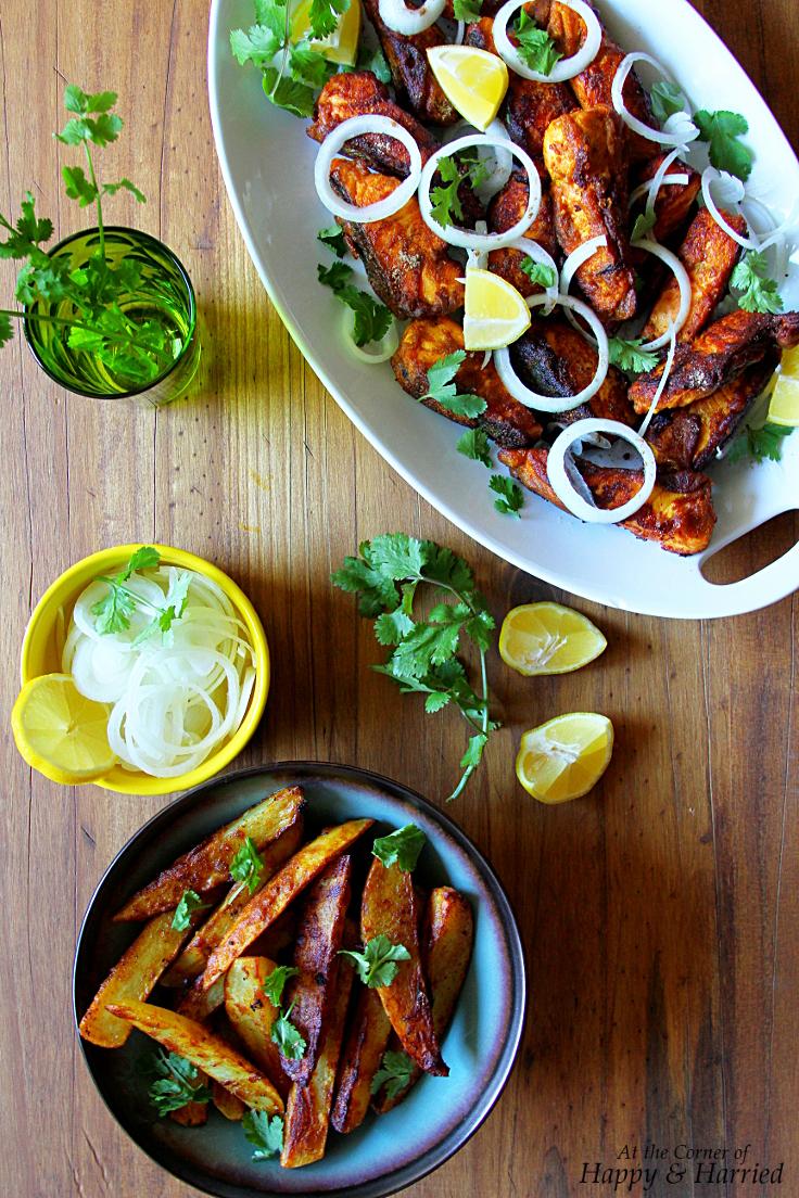 Amritsari Fish & Potatoes