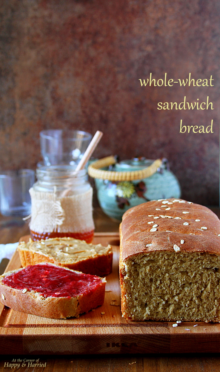 Easy Whole-Wheat Sandwich Bread