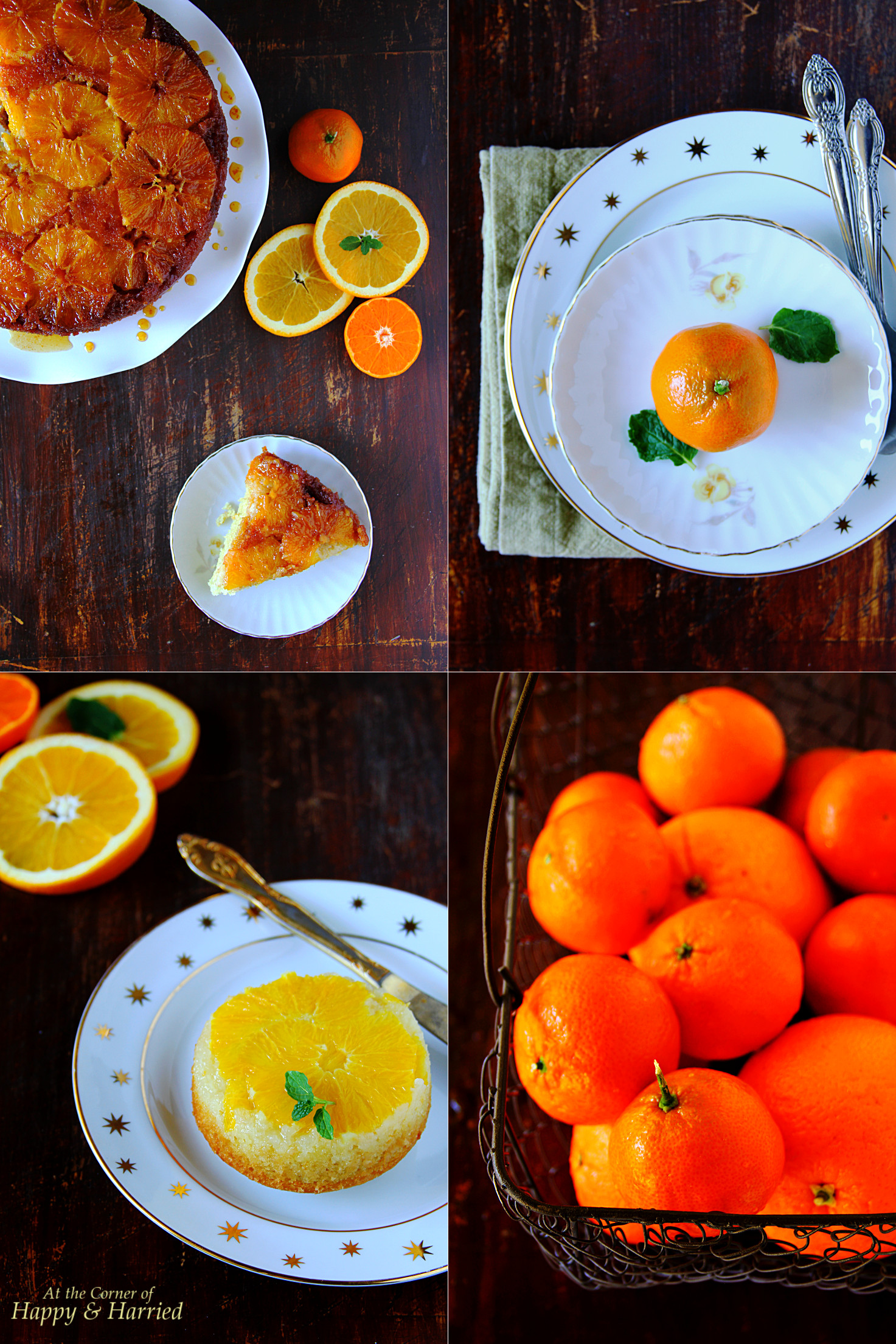 How To Make Orange Upside-Down Cake