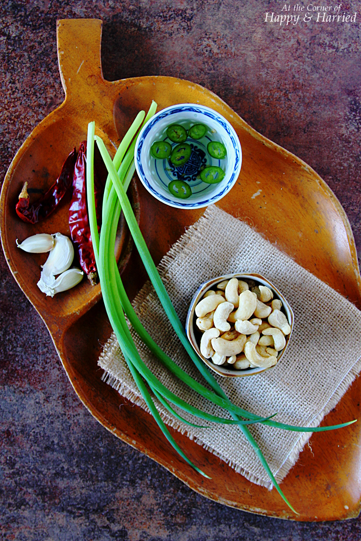 Ingredients for Slow-Cooker Cashew Chicken