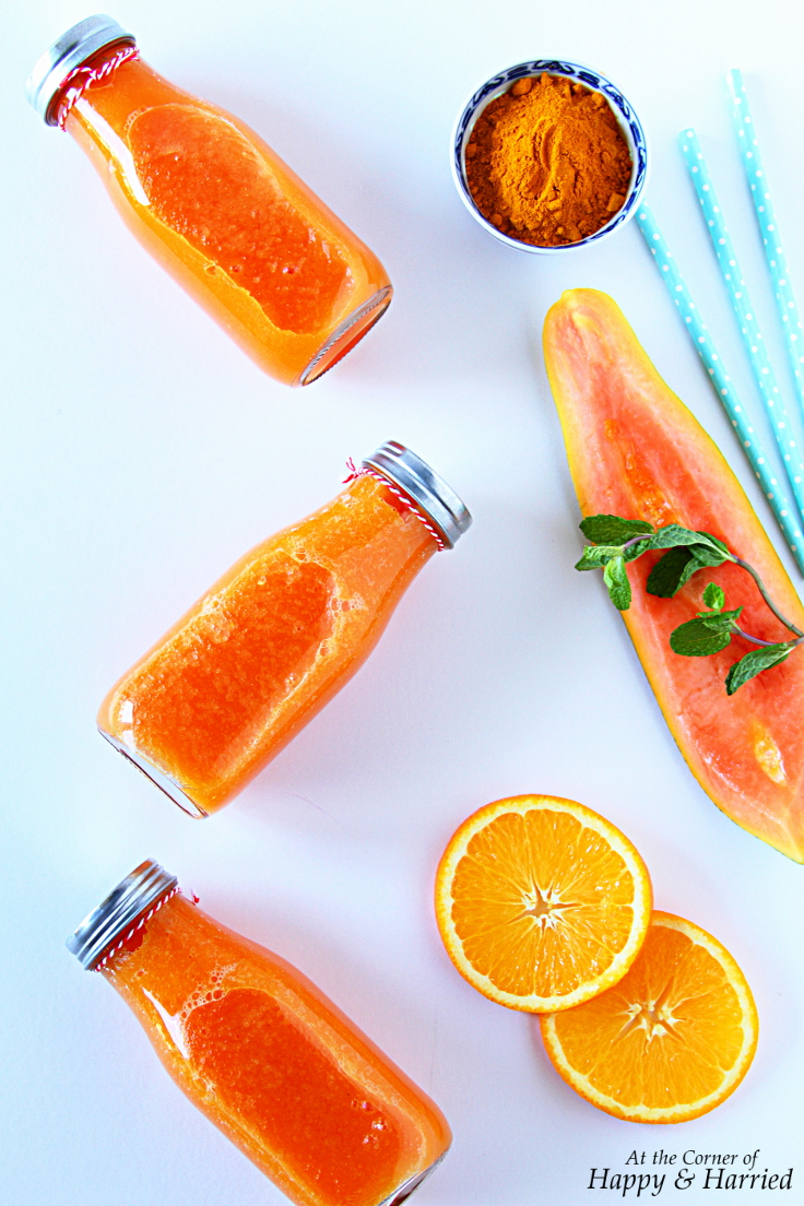 Papaya Orange Turmeric Immunity Booster