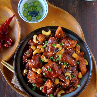Slow-Cooker Cashew Chicken