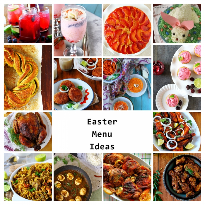 Easter Recipe Rundup On HappyAndHarried