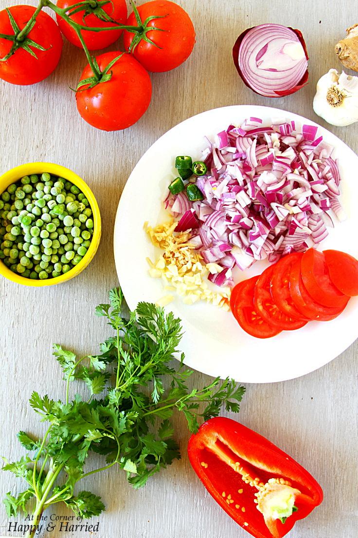 Ingredients For Egg Masala