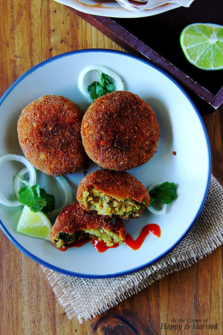 South Indian CHICKEN CUTLETS or CROQUETTES