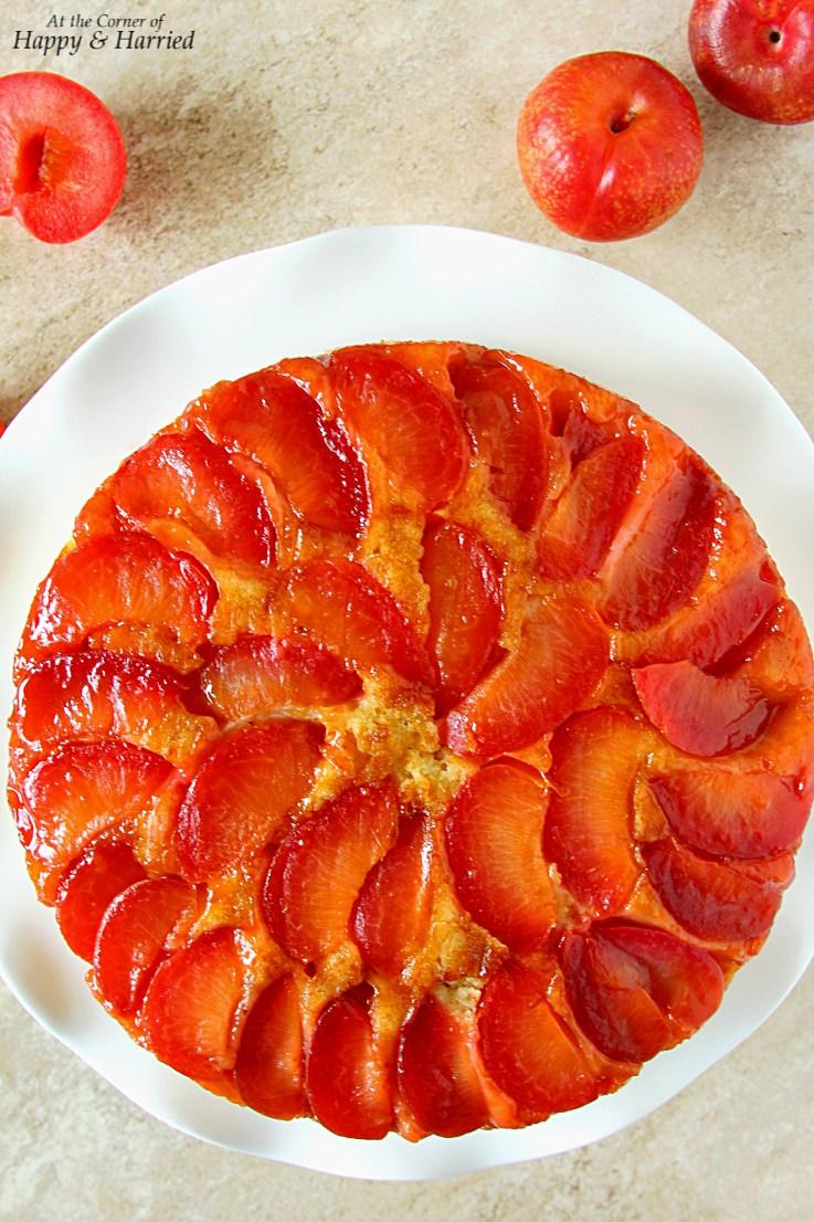 Upside-Down-Plumcot-Cake