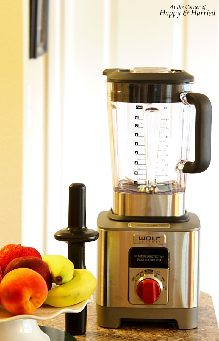 Wolf Gourmet High Performance Blender Review - HappyAndHarried