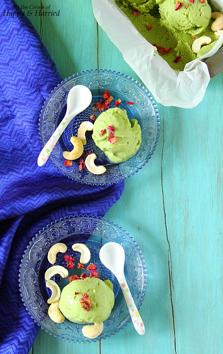 No-Churn Avocado Ice Cream