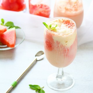 Watermelon Soda Float