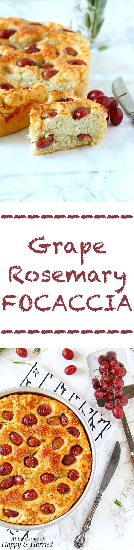 Grape Rosemary Focaccia