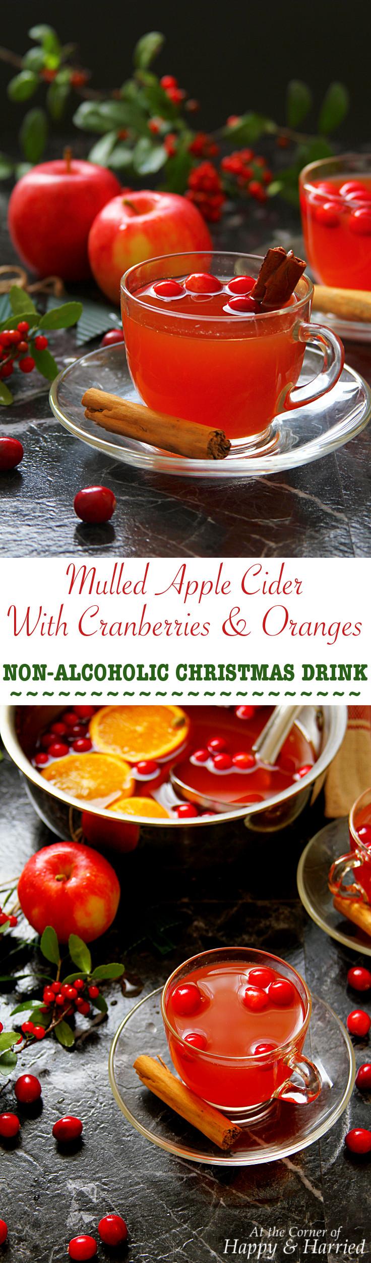 mulled apple cider with cranberries oranges. Black Bedroom Furniture Sets. Home Design Ideas