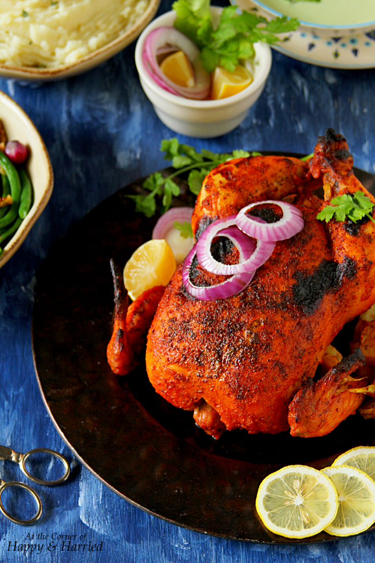Whole roasted tandoori chicken forumfinder Image collections