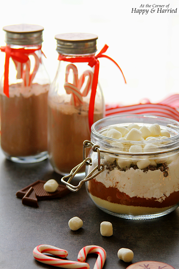 Making hot chocolate for a crowd - Chocolate Mix Christmas Edible Gift Homemade Hot