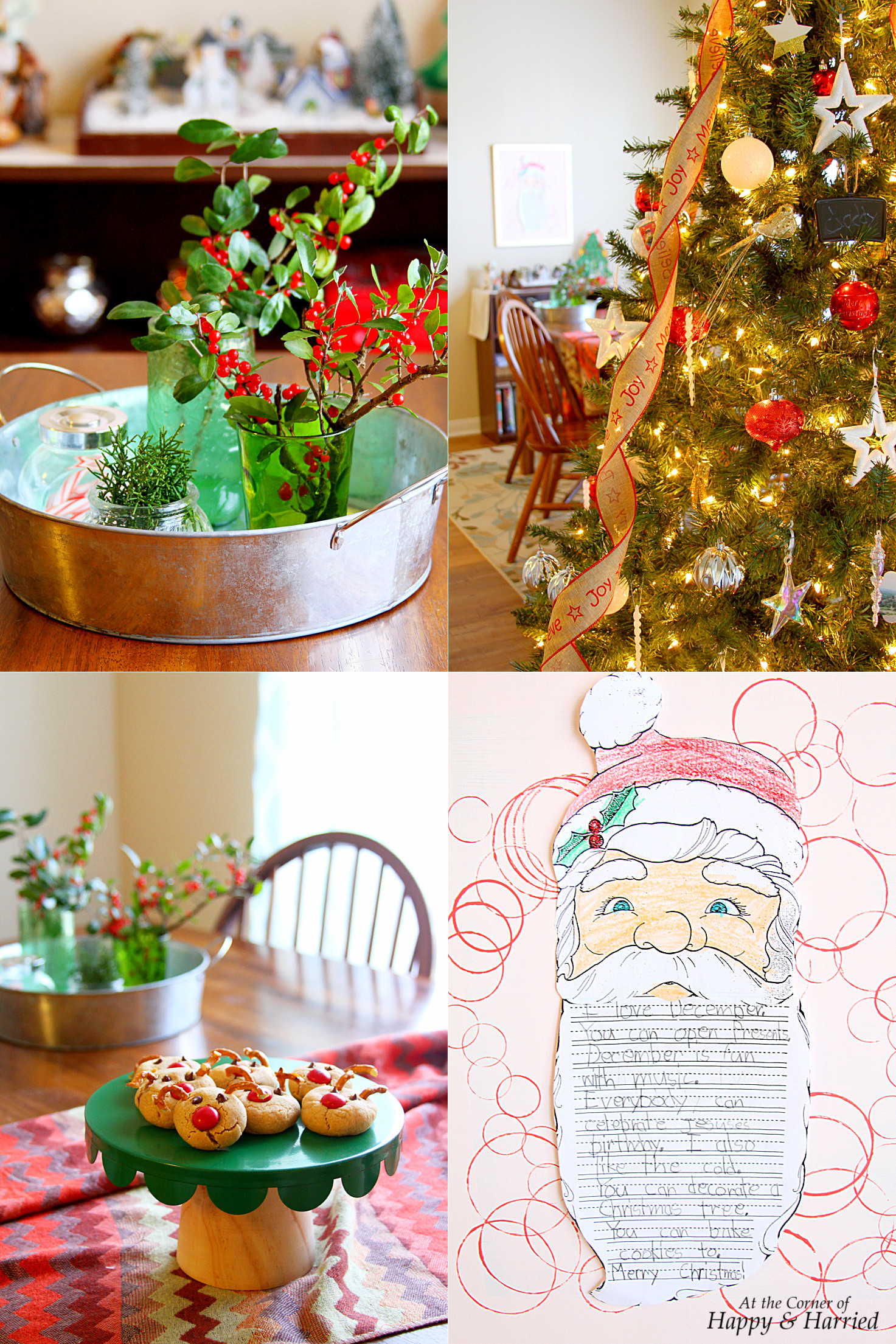Happy&Harried - 2016 Christmas Decor