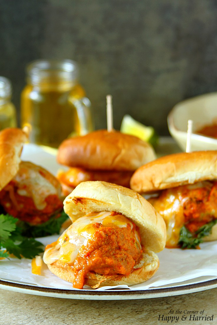 meatball-sliders-with-roasted-red-pepper-sauce