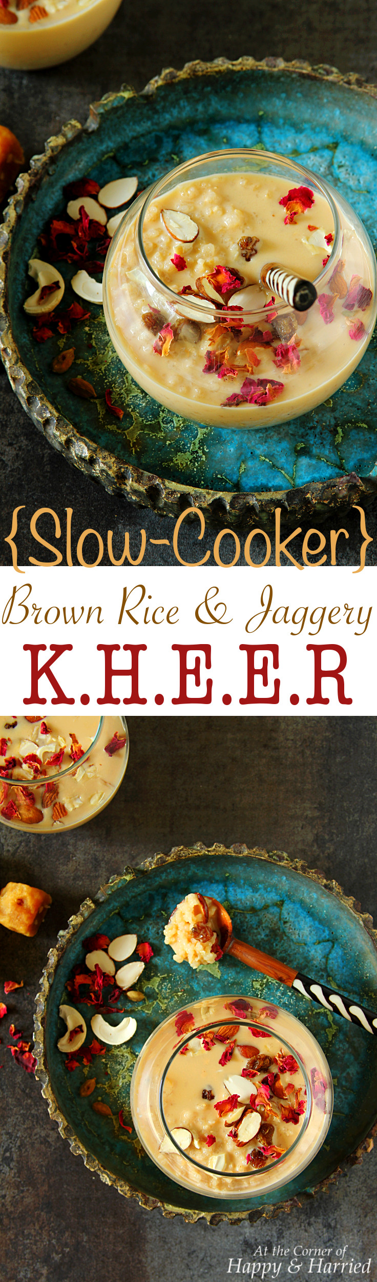 Slow Cooker Brown Rice Jaggery Kheer Happy&harried Do You Like Desserts? Do  You Have A How To Cook