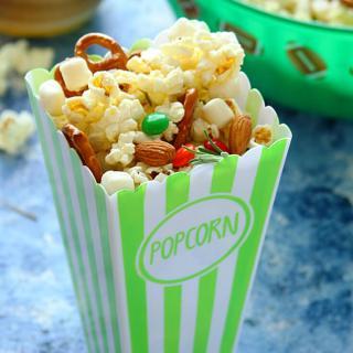 Movie-Night Popcorn & Crackers Snack Mix