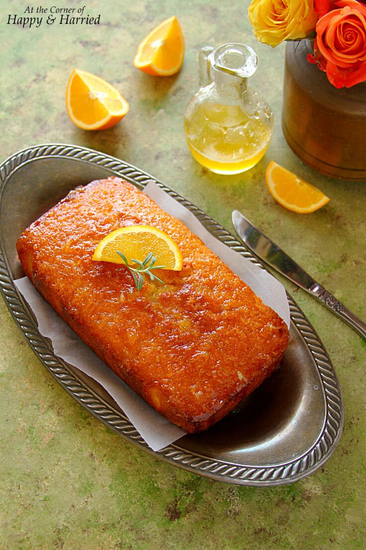 Ina Garten Orange Sponge Cake