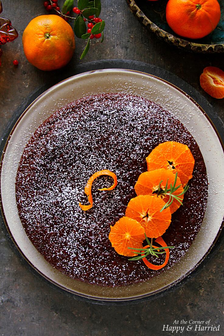 CHOCOLATE ORANGE CAKE - HAPPY&HARRIED