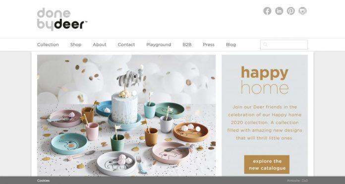Screenshot der Marke Done By Deer