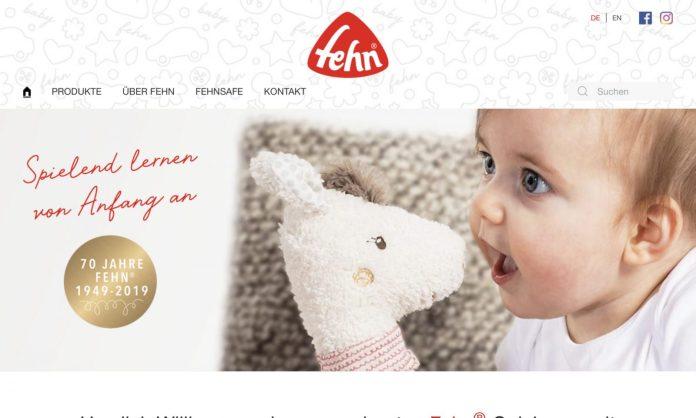 Screenshot der Marke Fehn