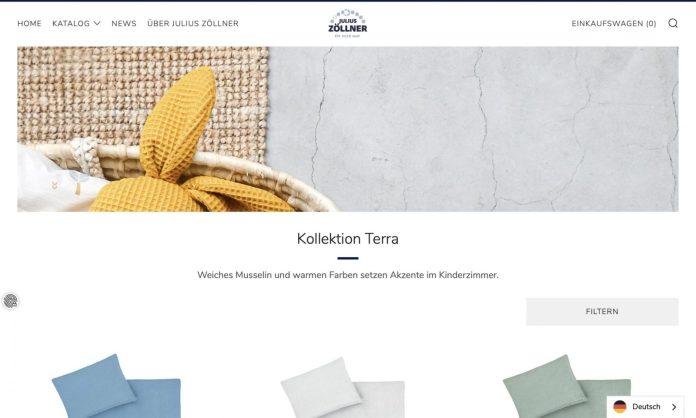 Screenshot der Marke Julius Zoellner