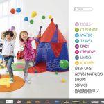 Screenshot der Marke Knorr Toys