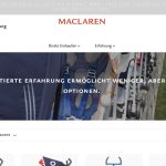Screenshot der Marke Maclaren