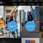Screenshot der Marke Micro Mobility