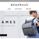 Screenshot der Marke Storksak