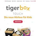 Screenshot der Marke Tigerbox