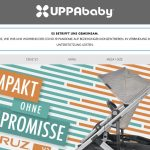 Screenshot der Marke Uppababy