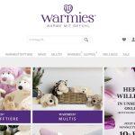Screenshot der Marke Warmies